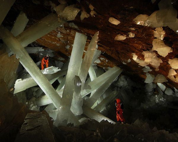 allabout.gr Απίστευτα μέρη Ορυχείο Naica, Μεξικό Naica Mine, Mexico