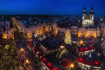 Χειμερινοί Προορισμοί στην Ευρώπη Christmas Market, Prague, Old Square 2