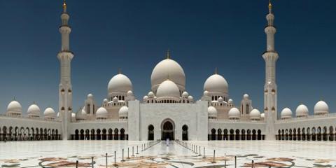 Καταπληκτικοί Χώροι Λατρείας Ναοί Sheikh-Zayed-Grand Mosque in the United Arab Emirates