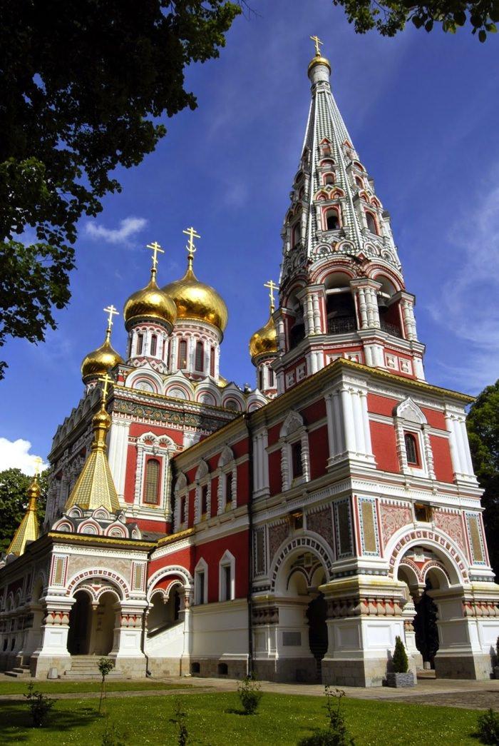 Shipka Memorial Church in Bulgaria