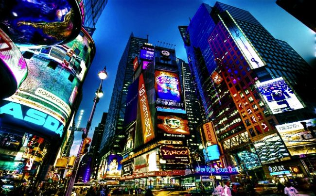 δημοφιλέστεροι προορισμοί Times Square allabout.gr