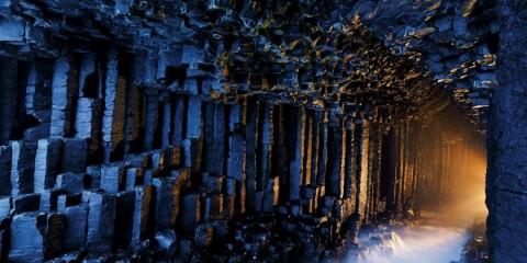 ομορφότερες σπηλιές του κόσμου Fingals Cave, Scotland
