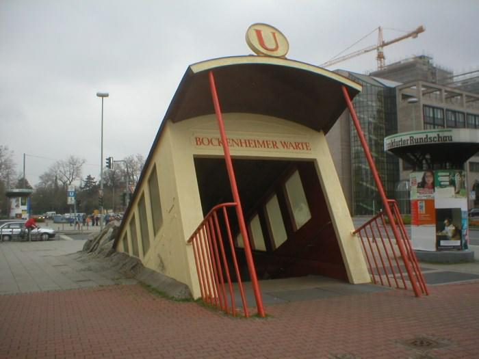 Πιο όμορφοι σταθμοί μετρό στον κόσμο Bockenheimer Warte Station