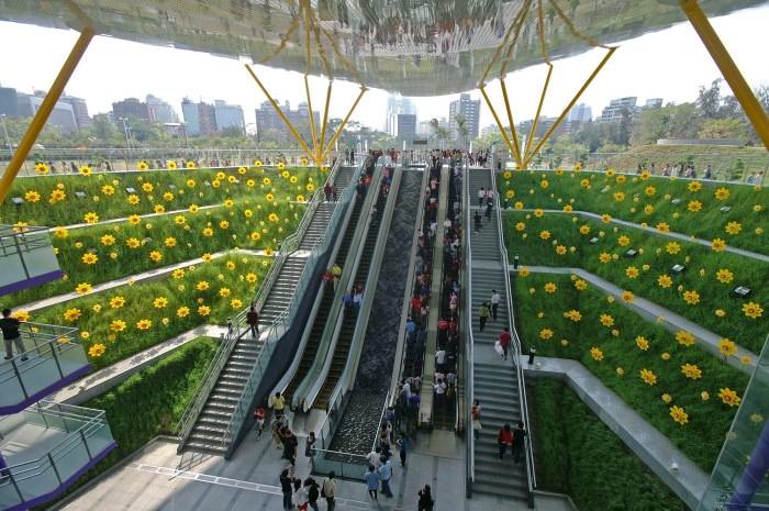 Πιο όμορφοι σταθμοί μετρό στον κόσμο Central Park Station
