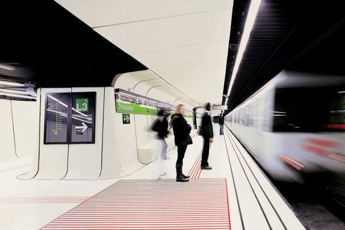 Πιο όμορφοι σταθμοί μετρό στον κόσμο Drassanes Station