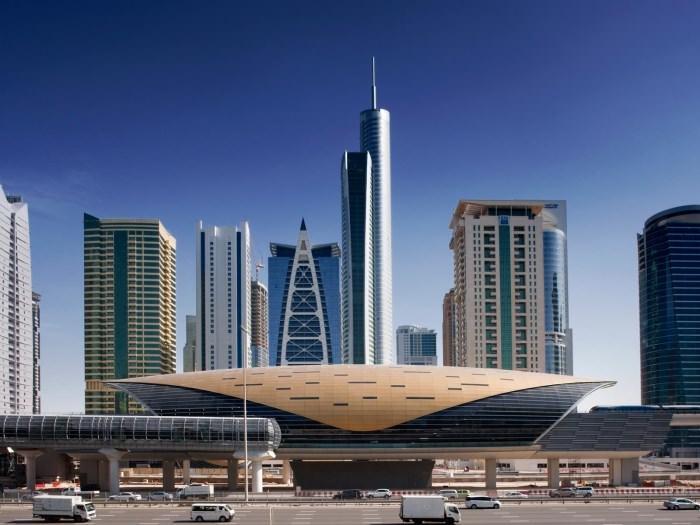 Πιο όμορφοι σταθμοί μετρό στον κόσμο Dubai Metro Station