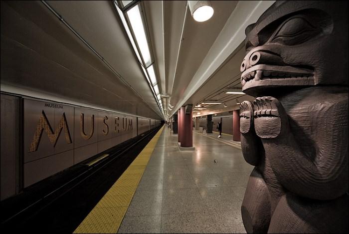 Πιο όμορφοι σταθμοί μετρό στον κόσμο Museum Station