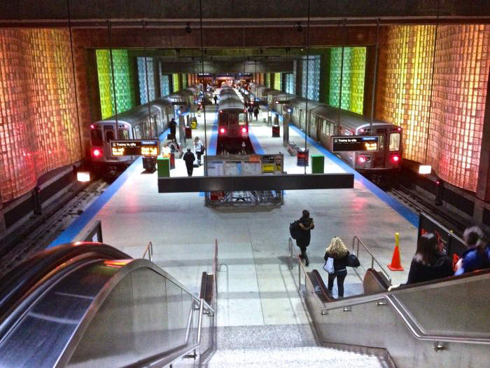 Πιο όμορφοι σταθμοί μετρό στον κόσμο O'Hare Station