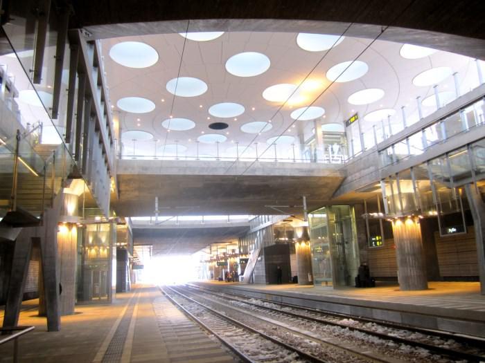 Πιο όμορφοι σταθμοί μετρό στον κόσμο Station Hyllie
