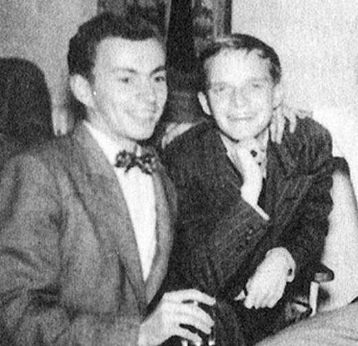 Gore Vidal και Truman Capote, φίλοι αλλά μόνο στη νεότητά τους