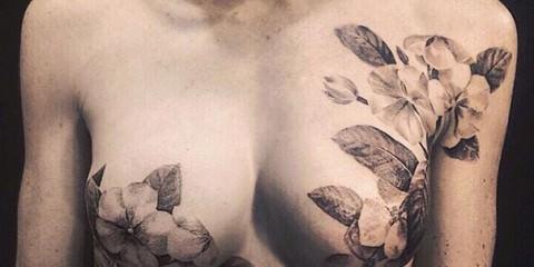Τατουάζ στα σημάδια της μαστεκτομής