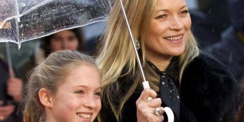 Τι λέει η κόρη της Kate Moss για τη διάσημη μαμά της