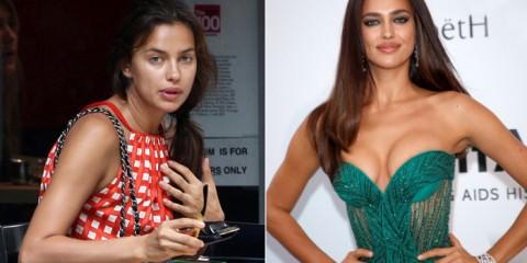 super models χωρίς μακιγιάζ