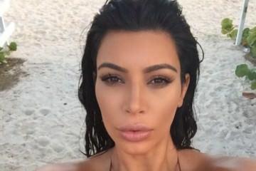 H έγκυος Kim Kardashian ζαλίζει με το πλούσιο στήθος της