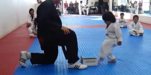 Karate kid, τα πρώτα βήματα