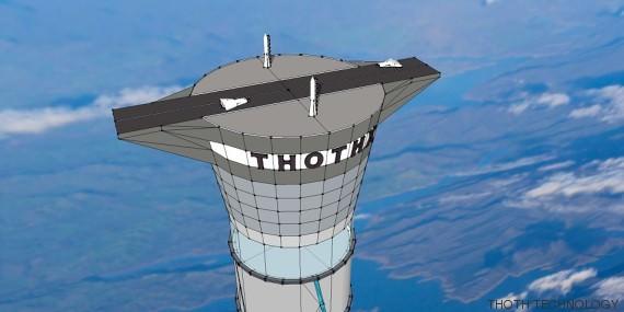 Απίστευτο: Καναδοί φτιάχνουν ασανσέρ που θα μεταφέρει επιβάτες στο διάστημα