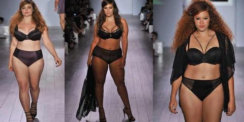 Οι «στρουμπουλές» που ανέβηκαν για πρώτη φορά στην πασαρέλα της Εβδομάδας Μόδας της Νέας Υόρκης