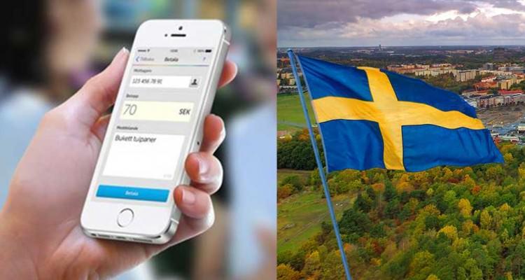 H Σουηδία γίνεται η πρώτη χώρα χωρίς μετρητά! Swish
