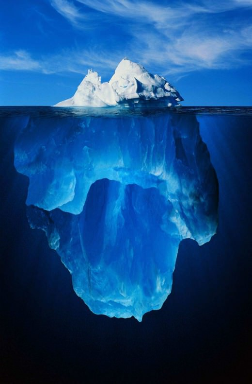 To παγόβουνο του 1 εκατομμυρίου