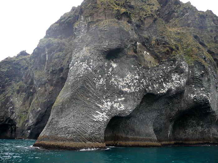 Bράχος ελέφαντας στην Ισλανδία!