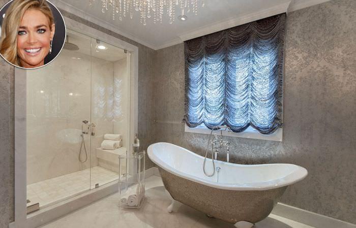 Denise Richards bathroom