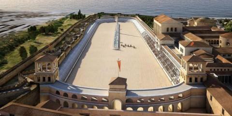 το κέντρο της Θεσσαλονίκης κατά την αρχαιότητα