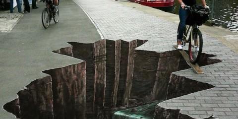 Τρισδιάστατα Graffiti που θα κάνουν να Κολλήσετε για πολύ ώρα.